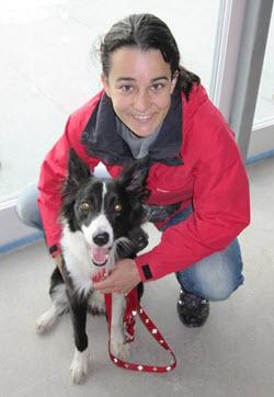 Dr. Rutz & Her Dog Storm